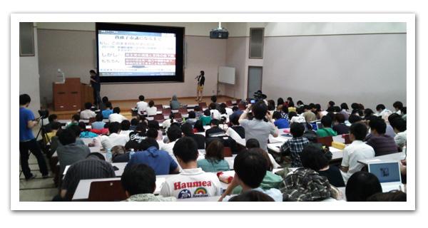 東洋大学にて講義する水野ゆうき議員